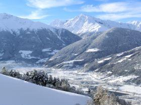 Winterlicher Ausblick vom Lechtlhof