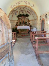 Hereinspaziert in die Lechtlkapelle in Mals im Vinschgau