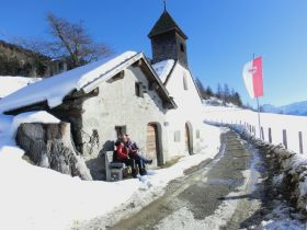 Lechtlkapelle im Winter